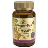 """Kangavites Multi """"Frutas del bosque"""" Solgar, 60 Comprimidos masticables"""