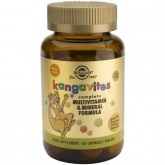 Kangavites Multi Frutas Tropicales Solgar, 60 Comprimidos masticables