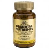 Solgar prenatali Nutrienti
