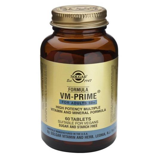 Fórmula VM Prime™ Solgar, 60 Comprimidos