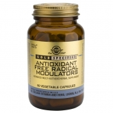 GS® Solgar Antioxidante Free Radical moduladores, 60 cápsulas