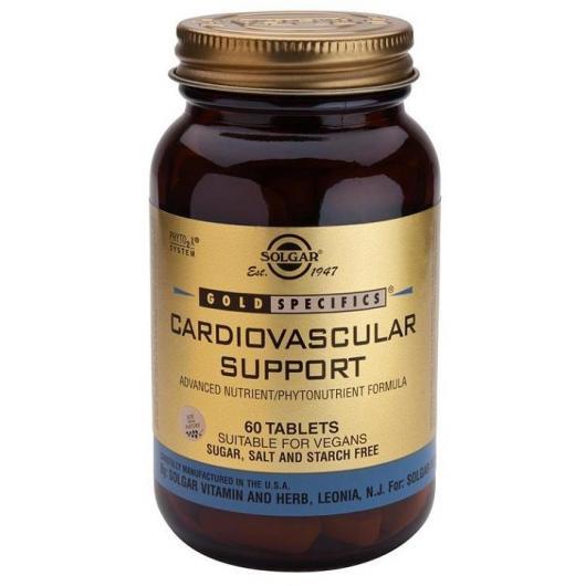 GS® Supporto Cardiovascoare Solgar, 60 compresse