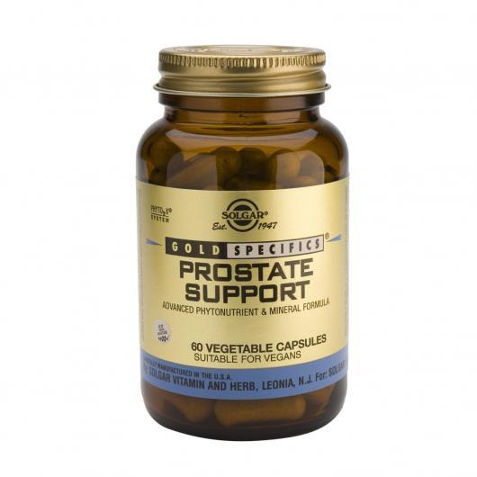 GS® Prostate Support Solgar, 60 Cápsulas vegetales