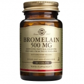 Solgar bromelina 500 mg, 30 compresse