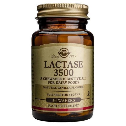 Lactasa 3500 Solgar, 30 compresse masticabili