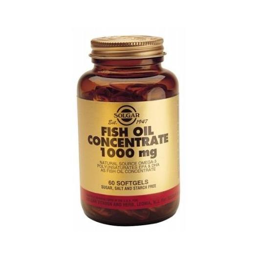 Concentrato olio di pesce 1000 mg, 60 Capsule Morbide