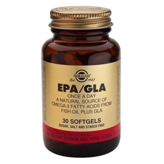 EPA / GLA  Cápsulas blandas Solgar