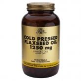 Olio di Semi di Lino 1250 mg Solgar, 100 capsule vegetali