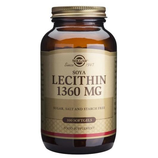 Lecitina de Soja Solgar 1.360 mg