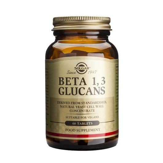 Beta 1,3 Glucanos Solgar, 60 Comprimidos