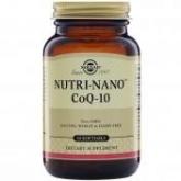 Nutri Nano ™ CoQ10 3.1x Solgar, 50 Softgels