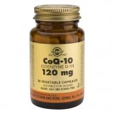 CoQ-10 120 mg Solgar, 30 cápsulas vegetais