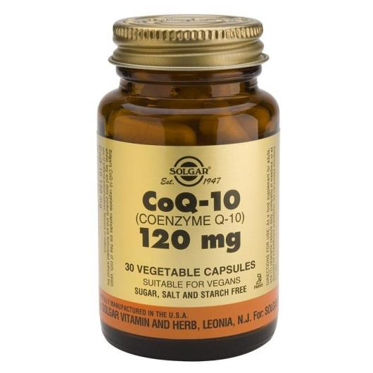 Coenzima CoQ-10 120mg Solgar, 30 capsule vegetali