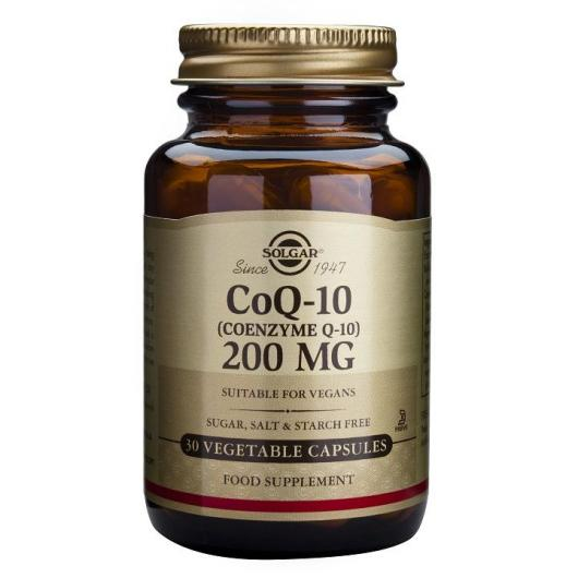 Coenzima CoQ-10 200 mg Solgar, 30 Cápsulas vegetales