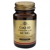 Coenzima CoQ-10 60 mg en aceite Solgar, 30 Cápsulas blandas