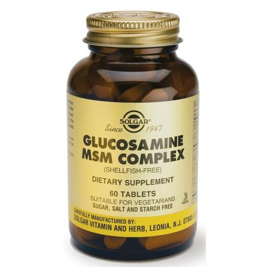 Solgar Glucosamina MSM Complex 60 compresse