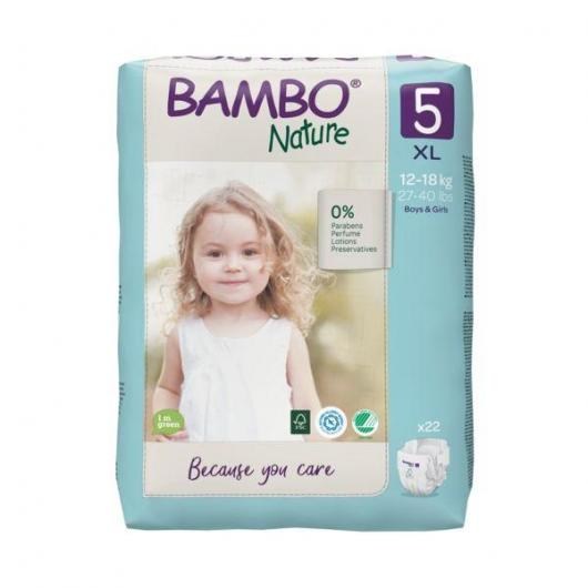 Pañal Bambo junior 12-22Kg, 27ud