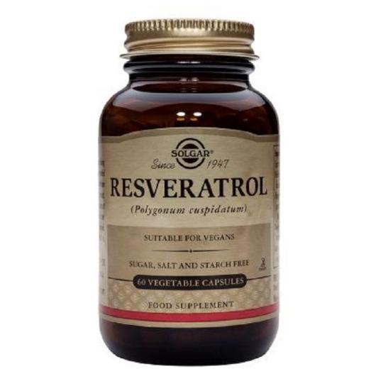 Solgar resveratrolo, 60 capsule vegetali