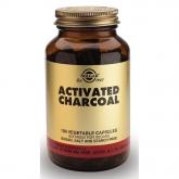 Carbone attivo Solgar, 100 capsule
