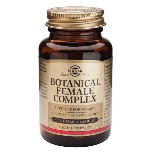 Complexe botanique pour femmes Solgar, 30 gélules végétales