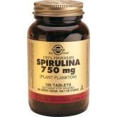 Espirulina 100% Hawaiana 750 Mg Solgar, 100 cápsulas.