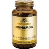 Solgar Cinnamon China, 100 cápsulas