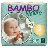 Pannolini Bambo medi 5-9kg, 33 unità