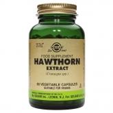 Extrato da erva Hawthorn Solgar, 60 cápsulas vegetais