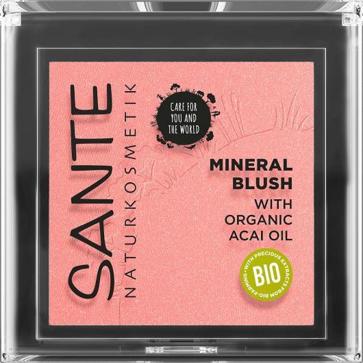 Fard nº 01 Rouge silky Terra Sante, 6.5 g