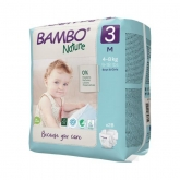 Couches Bambo midi 5-9 kg, 66 pièces