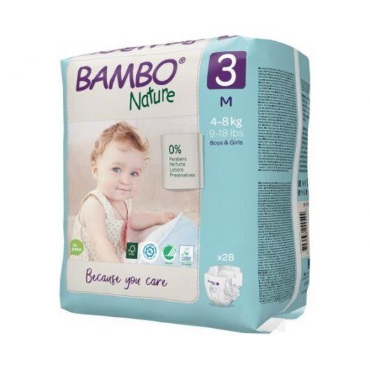 Pañal Bambo midi T3 (5-9Kg), 66ud