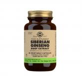 Extrato de Ginseng siberiano Root Solgar, 60 cápsulas vegetais