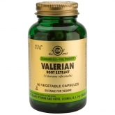 Extrait de racine de valériane Solgar, 60 gélules végétales