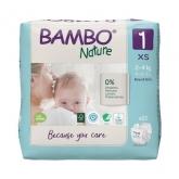 Fralda Bambú para recém nascidos 2-4 kg, 28 ud