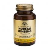 Solgar coreano ginseng, 50 cápsulas vegetais
