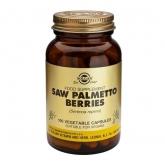 Extrait de baies de Saw Palmetto (chou palmiste) Solgar, 100 gélules végétales
