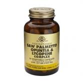 Complexe de Saw Palmetto, Opuntia et Lycopène Solgar, 50 gélules végétales
