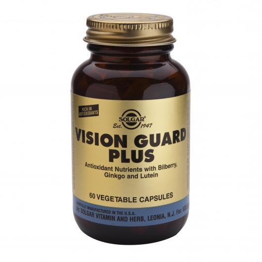 Vision Guard Plus Solgar, 60 capsule vegetali