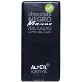 Chocolat 70% de cacao Macao Alternativa, 80 g