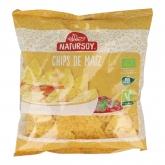 Chips de maíz Bio Natursoy, 125 g