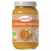 Babybio Traditional menu babyfood with beef 200g