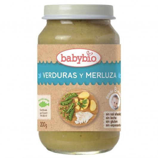 Potito Menu Tradicion Merluza Babybio, 200 g