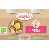 Petit pot Poire Babybio, 2 x 130 g