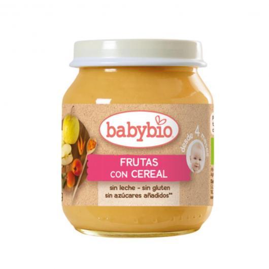 Petit pot Fruits aux céréales Babybio, 2 x 130 g