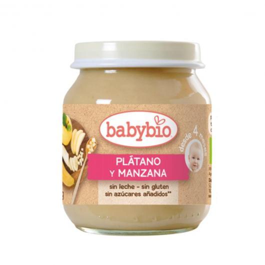 Petit pot Pomme Banane Babybio, 2 x 130 g