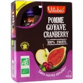 Adulti Mela Guava Mirtilo rosso Vitabio, 4 x 120 g