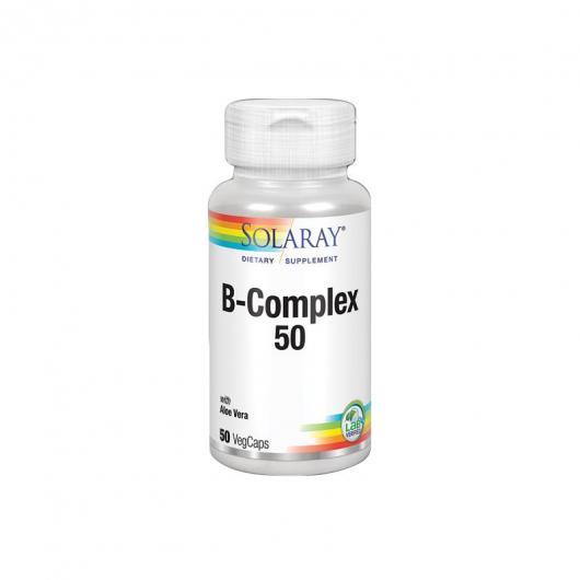 Complexe Vitamine B (B-complex 75) Solaray, 100 capsules