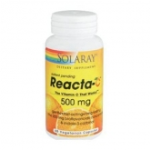 Reacta-C 500 mg Solaray, 60 capsules