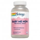 Baby me Now Prenatal Solaray, 150 cápsulas