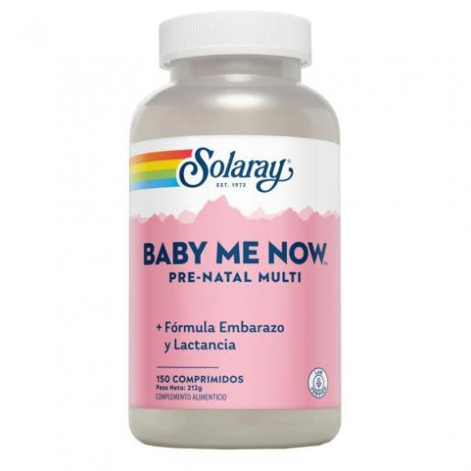 Mon nouveau-né Prénatal Multi Solaray, 150 comprimés